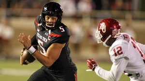 College Football: Hand Him The... Texas Tech's Patrick Mahomes