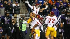 College Football: USC upsets #4 Washington