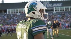 Tulane Football: 'Angry Wave' Helmets