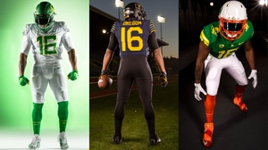 Oregon Football: Best Uniforms of 2016