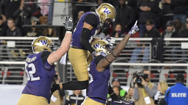 College Football: Washington clinches Pac-12 Championship