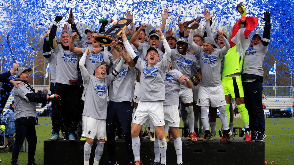 Wingate wins the 2016 DII Men's Soccer Championship