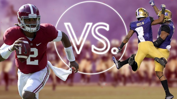 College Football Playoff: Alabama vs. Washington | Versus
