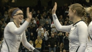 2016 DII Women's Volleyball: Semifinal Recap