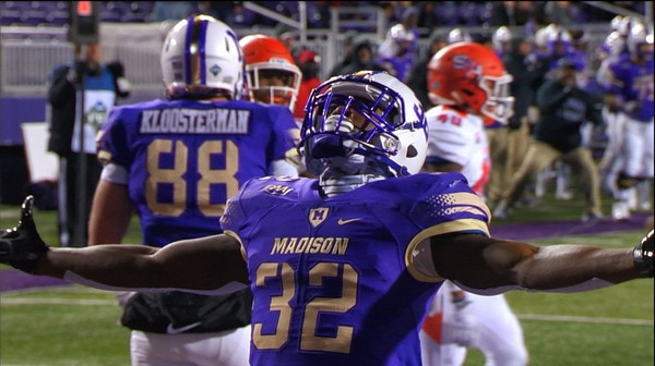 FCS Playoffs: James Madison defeats Sam Houston State