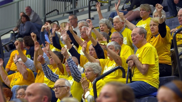 Franklin Women's Basketball: Grizzly Grandparents