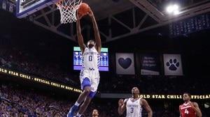 DI Men's Basketball: Kentucky dominates Arkansas