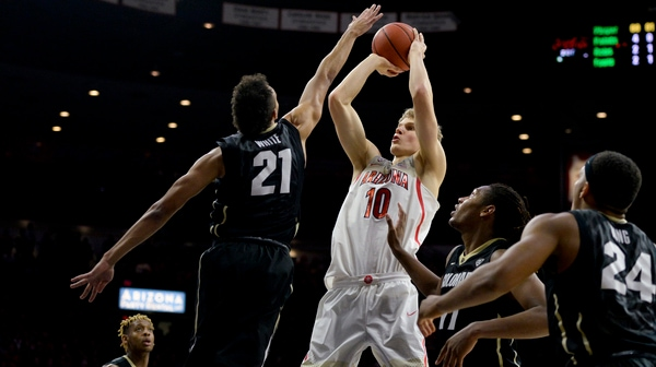DI Men's Basketball: Arizona beats Colorado 82-73