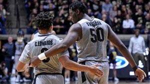 DI Men's Basketball: Purdue beats Wisconsin 66-55