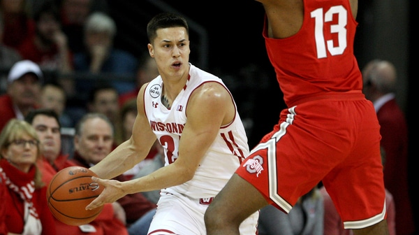 DI Men's Basketball: Wisconsin tops Ohio State 89-66