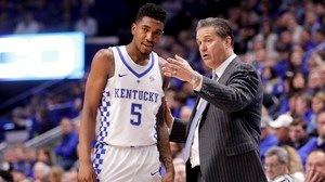 DI Men's Basketball: Kentucky holds off...