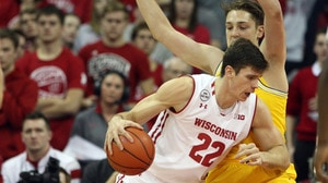 DI Men's Basketball: Wisconsin narrowly escapes Michigan