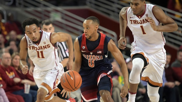 Arizona defeats USC, 73-66, in Pac-12 slugfest