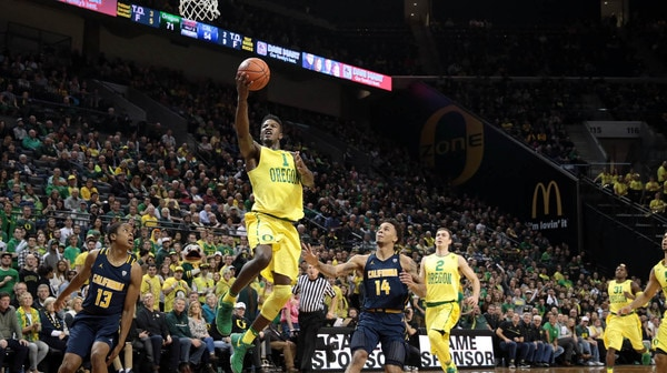 Hot shooting, tough defense push Oregon past Cal