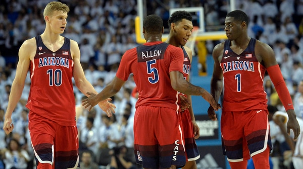 Arizona beats No. 3 UCLA 96-85