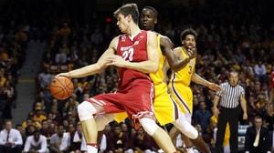 DI Men's Basketball: Wisconsin escapes...