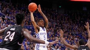 DI Men's Basketball: Kentucky dominates...