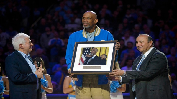 UCLA honors Abdul-Jabbar in this week's Social Rewind