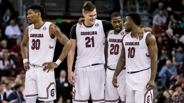 DI Men's Basketball: South Carolina beats Auburn