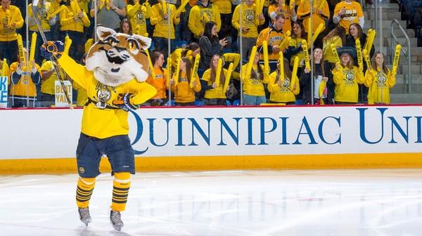 College Hockey: Top Ice Hockey Mascot | High Five