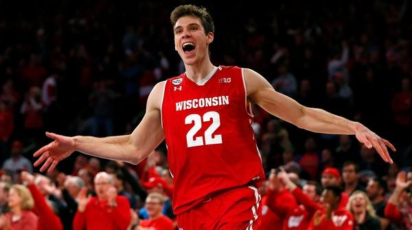 DI Men's Basketball: Wisconsin slips past Rutgers