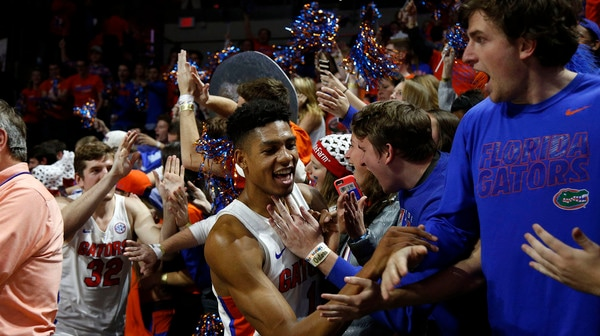 DI Men's Basketball: Florida dominates Kentucky