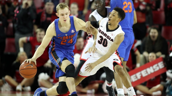 DI Men's Basketball: Florida chomps it way past Georgia