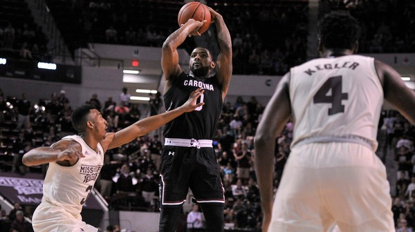 DI Men's Basketball: South Carolina slips past Mississippi State