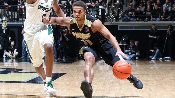 DI Men's Basketball: Purdue dominates Michigan State