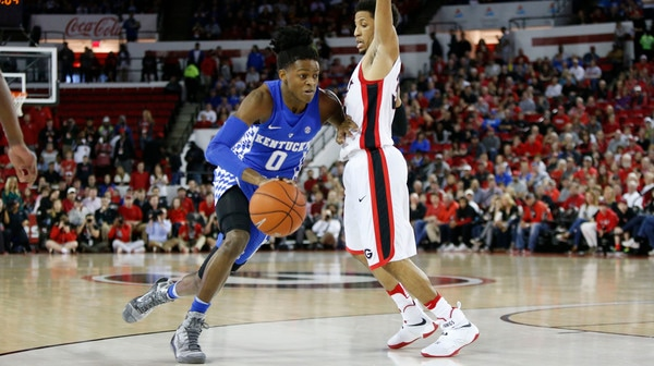DI Men's Basketball: Kentucky edges out Georgia