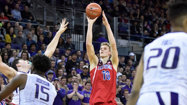 Markkanen paces Arizona past Washington
