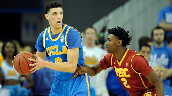 DI Men's Basketball: UCLA dominates USC 102-70