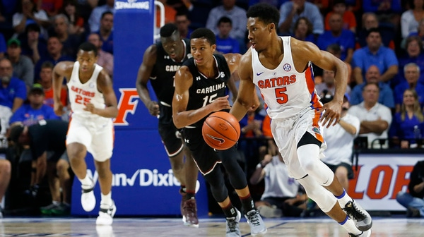DI Men's Basketball: Florida tops South Carolina