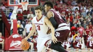 DI Men's Basketball: Arkansas tops Texas A&M