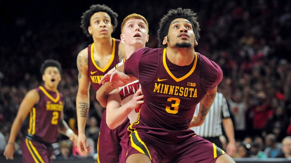 Maryland falls to Minnesota