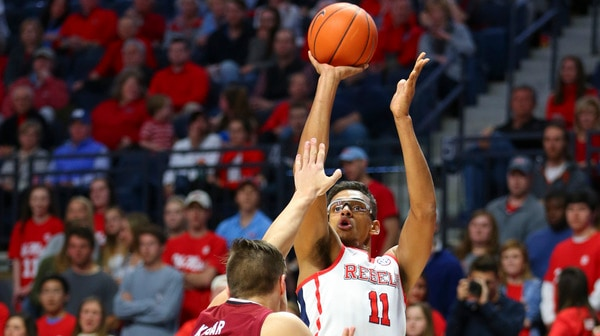 DI Men's Basketball: Ole Miss downs South Carolina