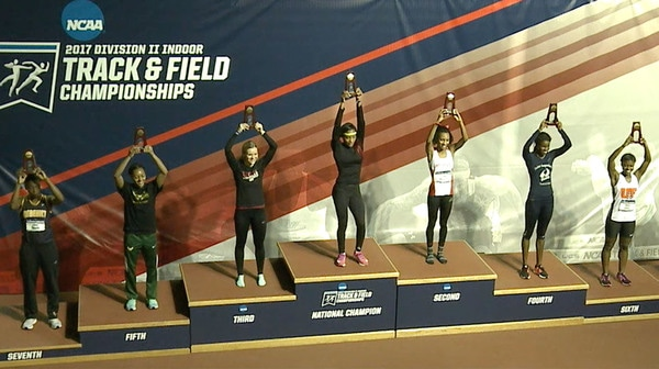 2017 DII Women's Indoor Track & Field Championship: Day Three Recap