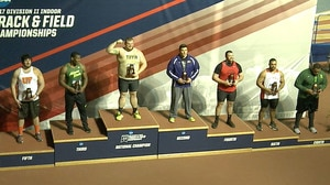 Tiffin wins the 2017 DII Indoor Track & Field Championship
