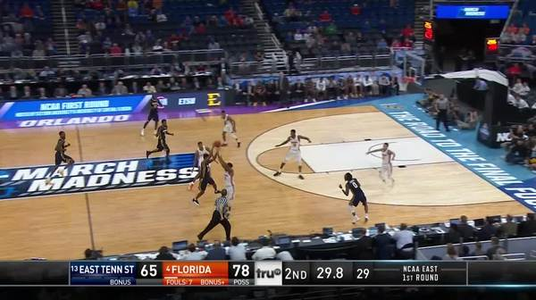 Dunk by Devin Robinson