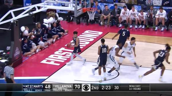 The Wildcats with a 9-0 run