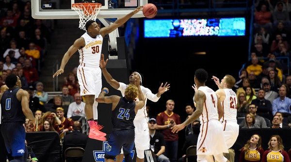 First Round: Iowa State slides past Nevada