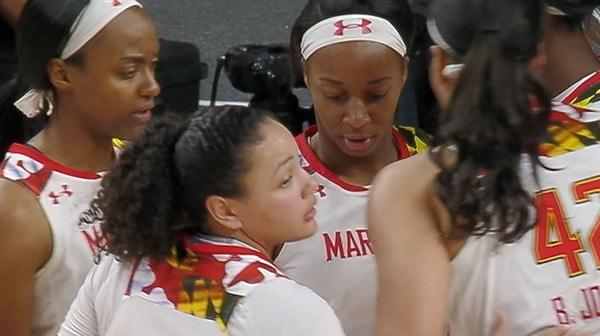 Women's Basketball: Maryland Defeats Bucknell