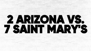 (2) Arizona vs. (7) Saint Mary's