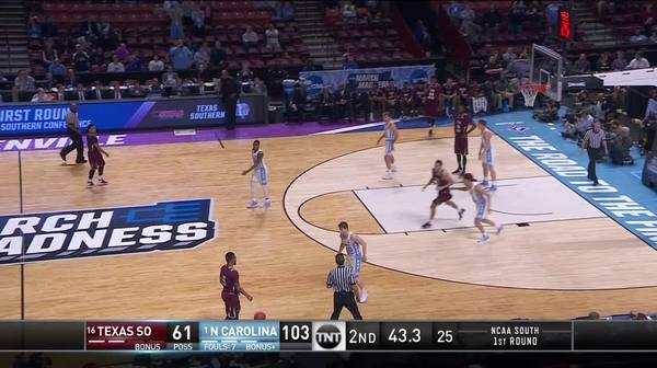 3-pointer by Tyree Bynum