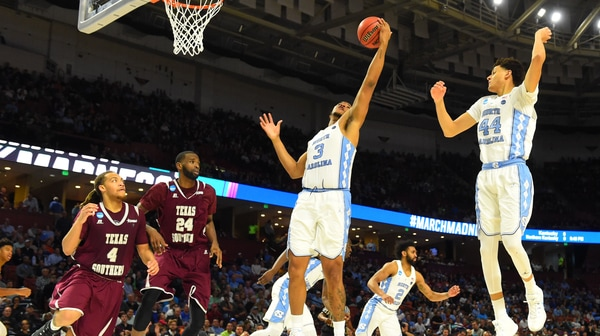 First Round: UNC eases by Texas Southern