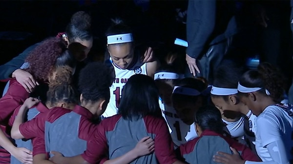 Women's Basketball: South Carolina dominates UNC Asheville