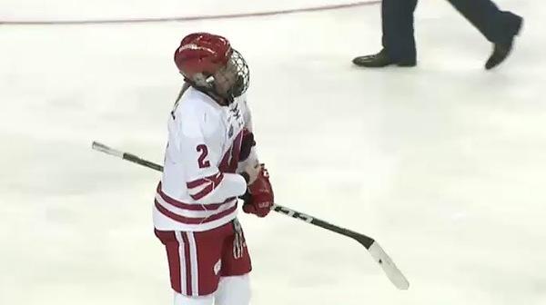 2017 NC Women's Ice Hockey Semifinal: Wisconsin vs. Boston College Full Replay