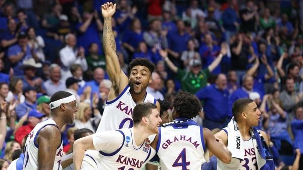First Round: Kansas rolls past UC Davis