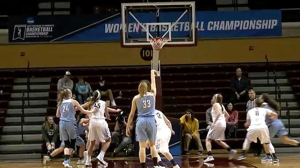 2017 DIII Women's Basketball Semifinal Recap