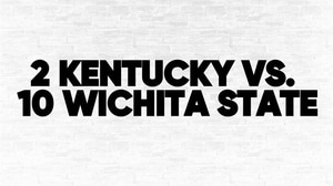 (2) Kentucky vs. (10) Wichita State